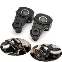 KEMiMOTO 22mm 28mm Universal Motorcycle Handle Bar Clamp Handlebar Riser Adjustable For BMW 1150 For Yamaha