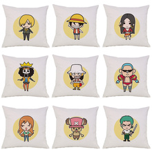 One Piece Monkey D Luffy Roronoa Zoro Nami Pillow Case
