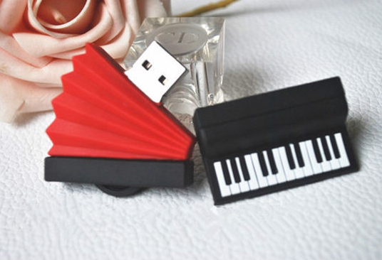 Musical Instrument Organ accordion USB Flash Drive thumb pendrive u disk USB 2.0 2GB - 64GB memory stick gift /souvenir/ S599