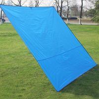 1 יחידות מחצלת שמיכת פיקניק Mat חיצוני קמפינג נייד Velarium אוקספורד עמיד למים כיסוי גשם אוהל חופה 2400*2200*5 מ