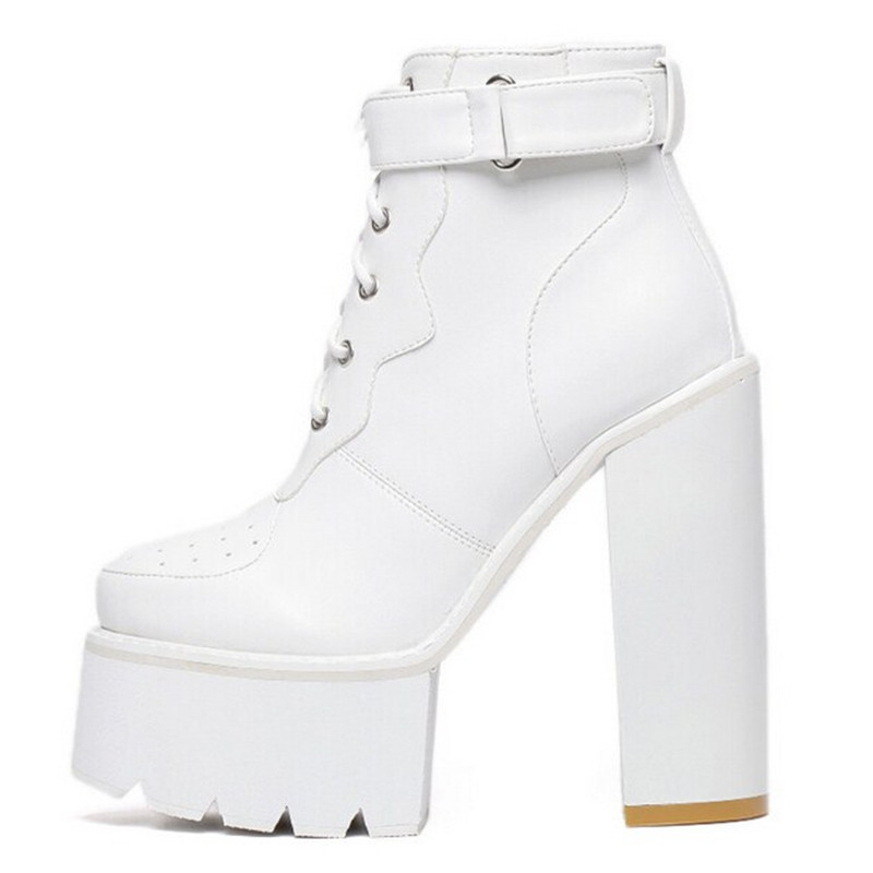 Compare Prices on White Ankle Boots- Online Shopping/Buy Low Price ...