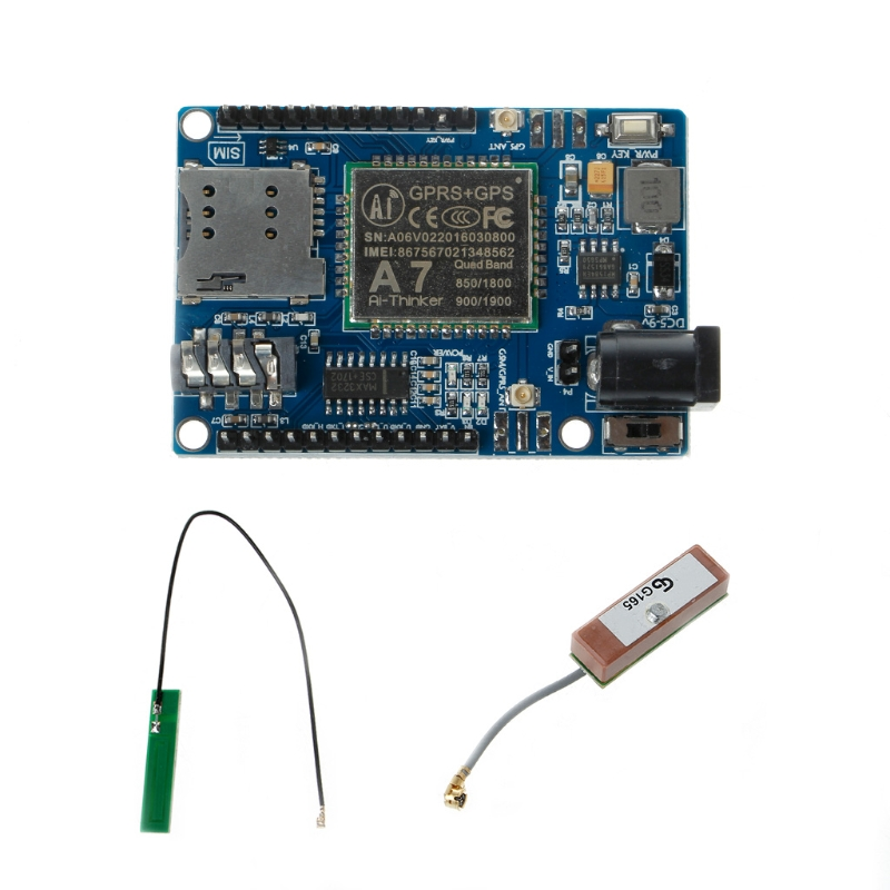 AIoT GSM/GPRS+GPS/BDS module SMS voice development board minimum