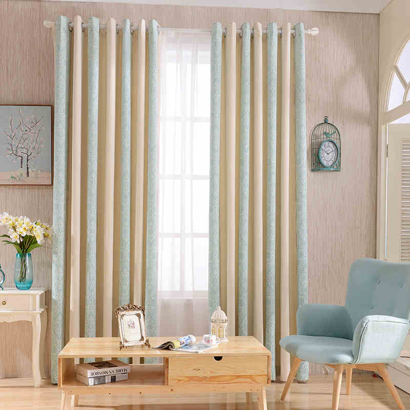 Striped Printed Window Curtains For The Bedroom Fancy Children Modern  Curtains For Living Room Cloth Curtains