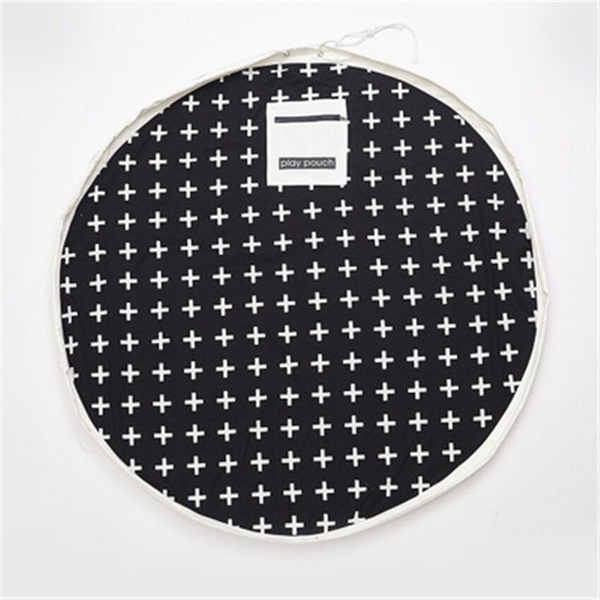 140 CM bébé tapis de sol de couchage enfants tapis de jeu tapis de jeu Tapete Infantil Para Brincar sac de rangement Speelkleed Gym Alfombra tapis - 6