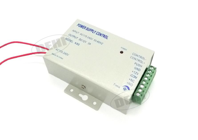 Superior Quality DC 12V New Door Access Control system Switch Power Supply 3A Input Voltage AC 110~240V