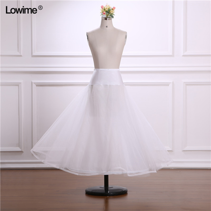Petticoats Jupon Mariage 2019 New Elastic Waist White Tulle 4hoops Petticoats Wholesale Enaguas Para El Vestido De Boda Cheap Wide Selection;
