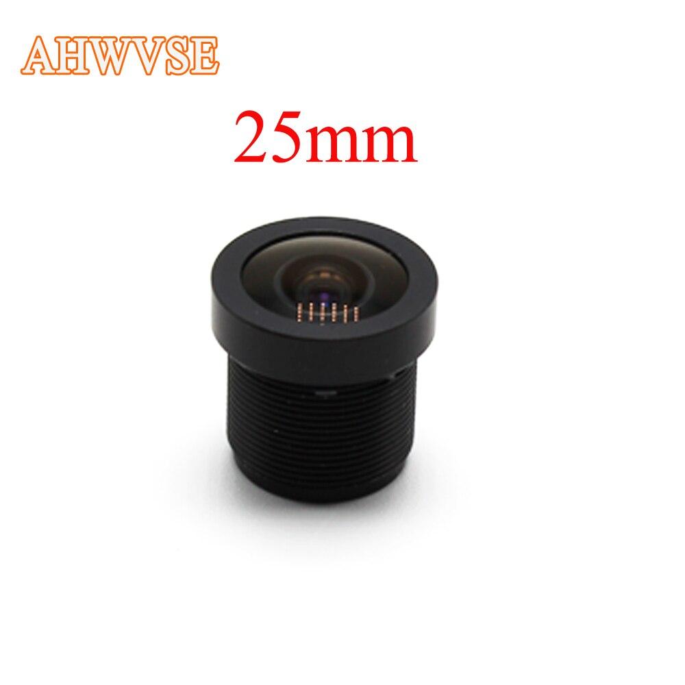 25mm CCTV Conseil MTV objectif, M12 * 0.5, large angle de vision 12 degrés, approprié pour 1/3 et 1/4 cctv caméra capteur