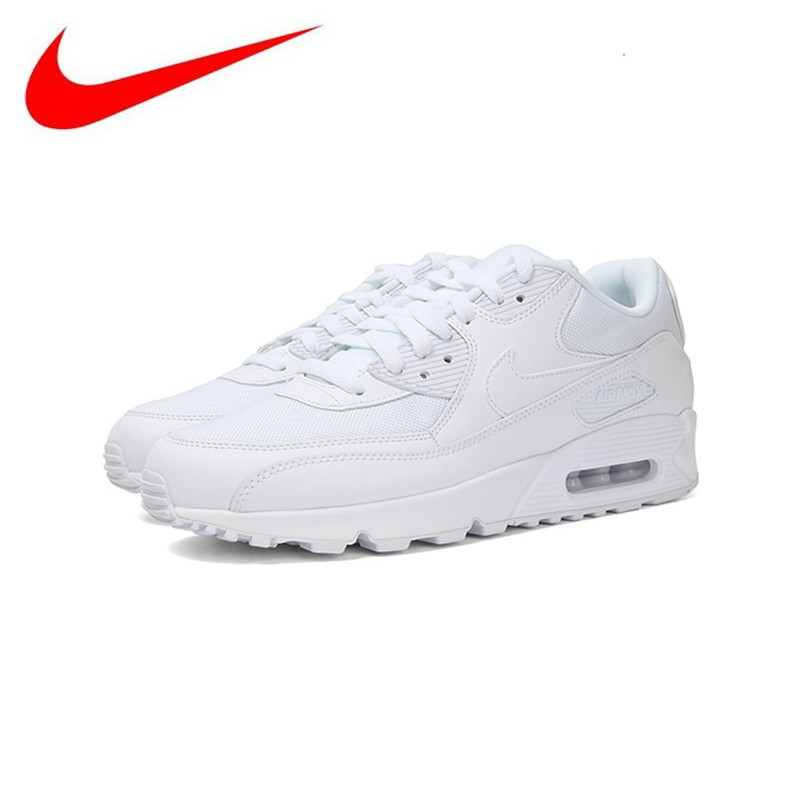 pretty nice 1addd d38e6 Original Nike Women WMNS AIR MAX 90 ESSENTIAL Sport Running Shoes,New Women  Breathable Air Mesh Outdoor Sneakers Shoes 537384
