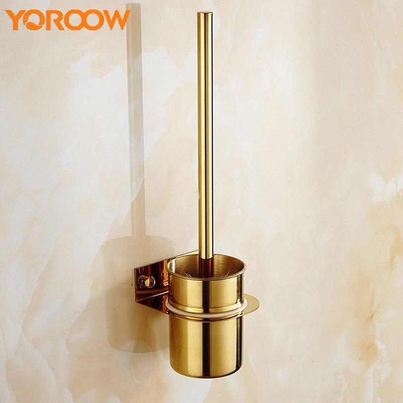 Black Gold Stainless Steel Toilet Brush