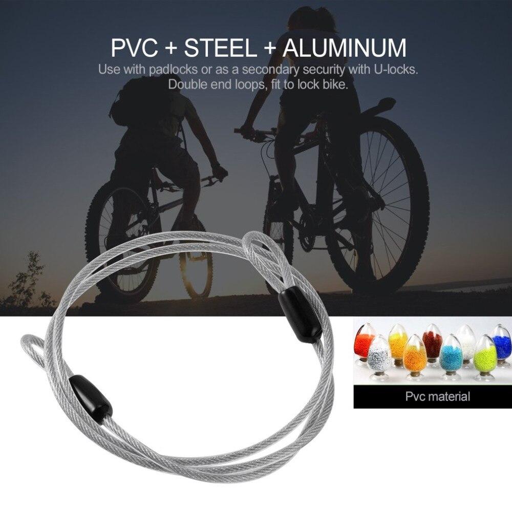 NºHot cable acero Alambres cuerda 100 cm para deportes al aire libre ...