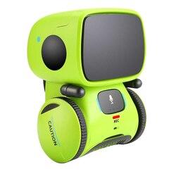 Bambini Intelligente Interattivo RC Robot Acustica Interazione Canto Sensibile Al Tocco di Controllo Vocale Intelligente Per Bambini Precoce Giocattolo Regalo