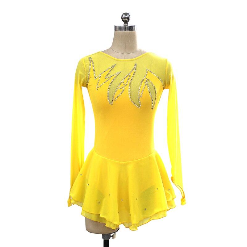 c30240c1 Nasinaya łyżwiarstwo figurowe sukienka dostosowane konkurs ...
