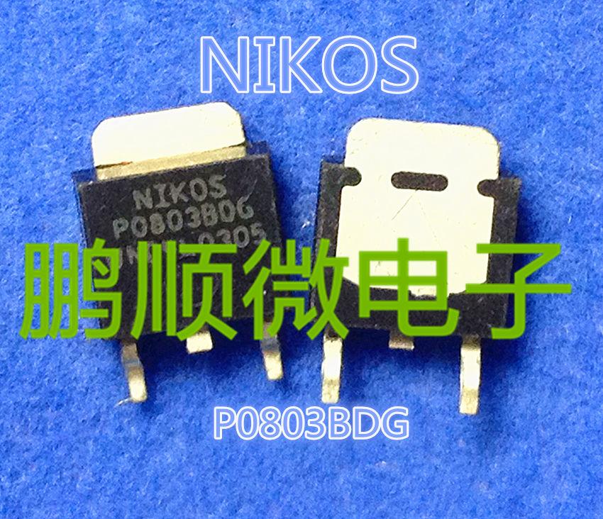 10PCS LOT NEW P0803BD P0803BDG TO 252 30V62A FET