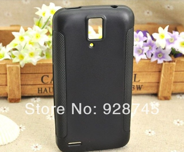 Huawei U9510E Silicone Cover Protective Soft TPU Back Anti-Skid Cases 3 Colors Wholesale Price in Stock Free Shipping