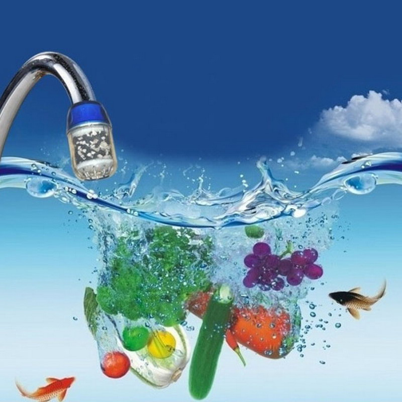 Water Purifier Carbon Charcoal Kitchen Activated Carbon Kitchen Home Tap Water Clean Purifier Filter купить