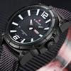 NAVIFORCE Top Brand Military Watch Men Fashion Sport Casual Quartz Wristwatches Dual Display Digital Clock Man