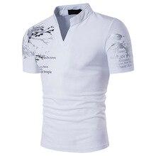 FFXZSJ New Designer 2018 Fashion Brand Male Polo Shirt Printing Short-Sleeve Slim Fit Shirt Men Polo Shirts Casual Polo Homme