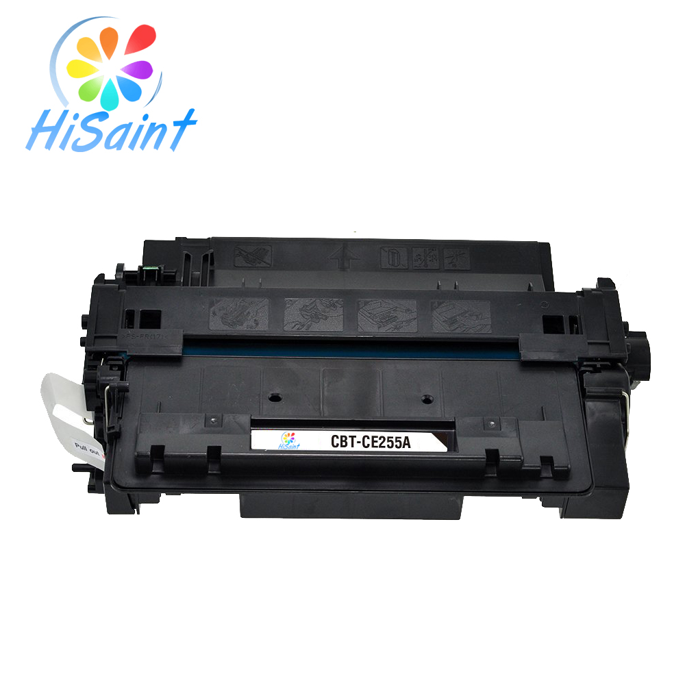 ФОТО Hisaint Listing Compatible For HP CE255A Laser Toner Cartridge Replacement for HP LaserJet p3015dn MFP M521dn  M525Printer Hot