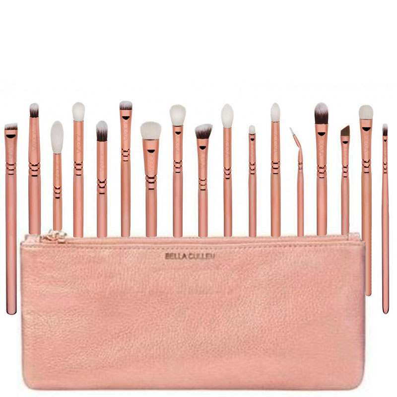 Pro 17 Pcs/16 Pcs/12pcs Makeup Brushes Set Eyeliner Eyeshadow Eyebrow Lip Brush Cosmetic Tools ...
