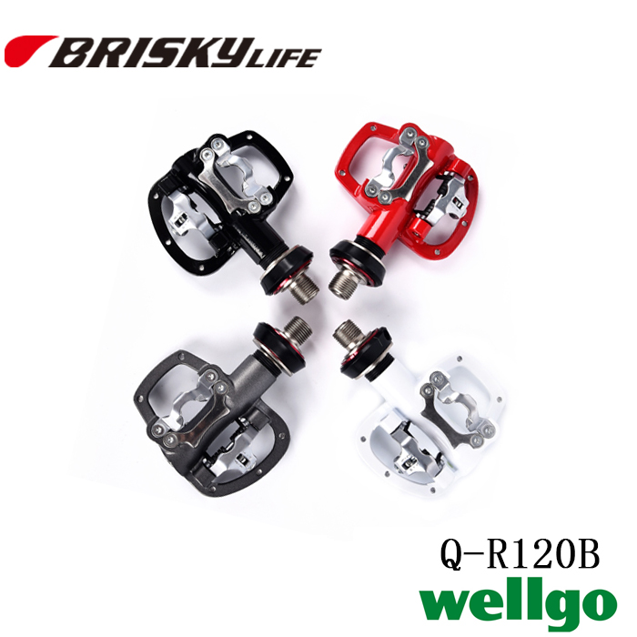 Free shipping high quality Wellgo pedals QR-120B with quick release
