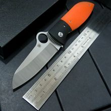 New Outdoor Tools C184 Folding knife 9CR18MOV Blade G10 Handle Hunting C184GPOR Knife Camping Survival Pocket Knife