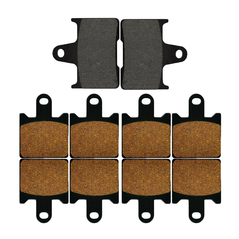 Motorcycle Front and Rear Brake Pads for For KAWASAKI Concours 14 ZG 1400/GTR1400  2008-2014 Sintered Brake Disc Pad motorcycle front and rear brake pads for for kawasaki vn 1700 vn1700 vulcan vaquero 2011 2014 black disc pad