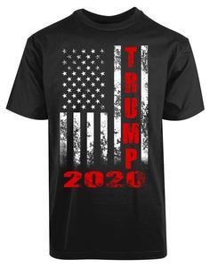 Image 1 - ドナルドトランプ 2020 Tシャツアメリカ国旗 2Nd 改正銃権利メンズ新 T Shirttshirt オム 2019 新ヒップホップストリート Tシャツ