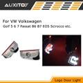 LED Предупреждение Двери Свет Логотип Проектор лампа ДЛЯ VW Golf 5 6 Jetta 7 MK5 MK6 CC Tiguan Passat B6 b7 Scirocco С VW R line логотип