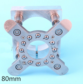 Фотография Spindle Motor Clamping Bracket Diameter 80mm Automatic Fixture Plate Device for water cooled / air cooling CNC spindle motor