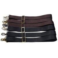 3 Metal Colors Long Adjustable 38mm Replacement Shoulder Straps For Mens Handbags Bags Strap Belt Black