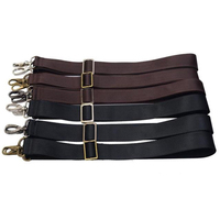 3 Metal Colors Long Adjustable 38mm Replacement Shoulder Straps For Mens Handbags Bags Strap Belt Black