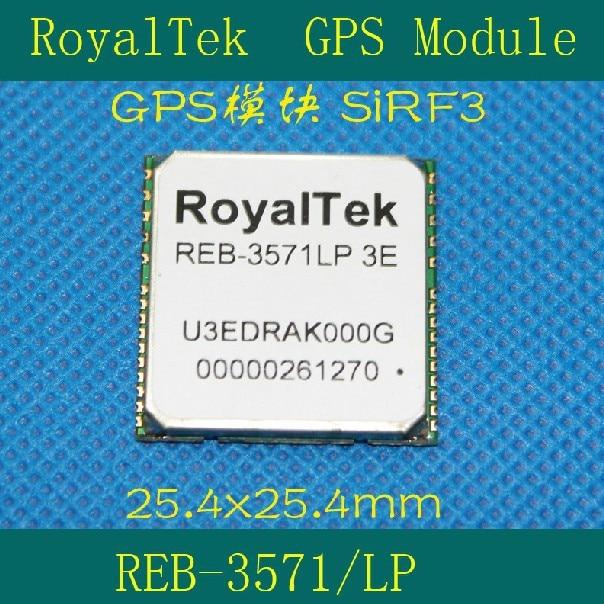 Freeshipping GPS module REB-3571LP-3E/25.4x25.4MM/SIRF3 freeshipping zigbee cc2530 module pcb antenna sma