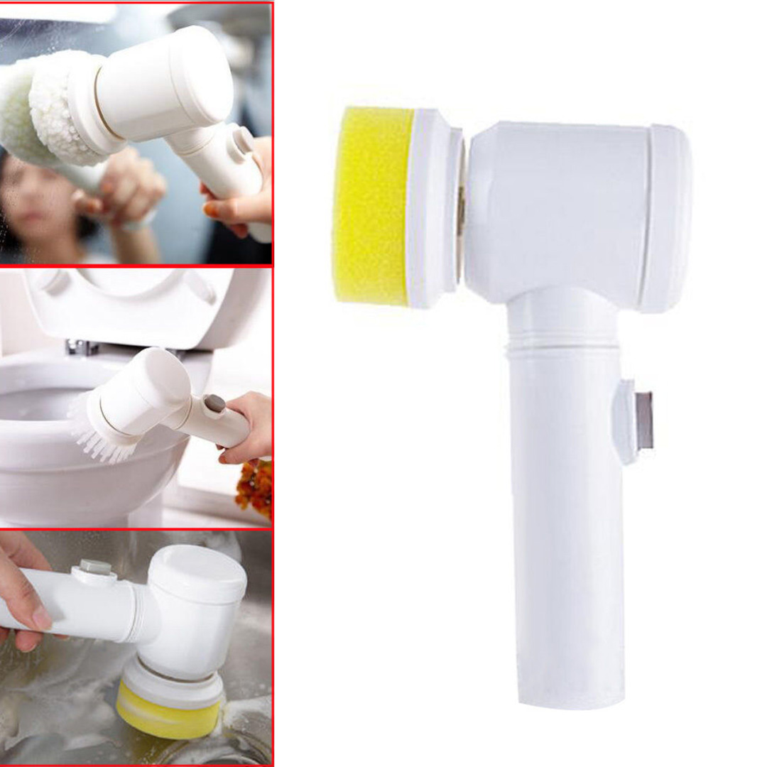 JX-LCLYL 5in1 Multifunction Electric Cleaning Brush Bathroom Window Cleaner Scrubber Tool