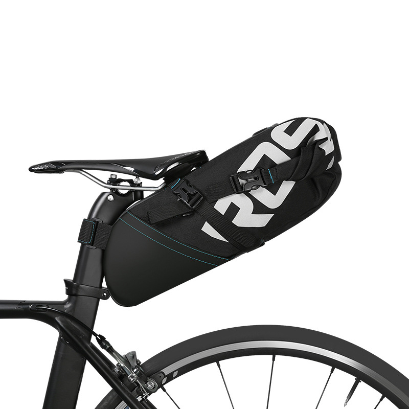 MTB Bicycle Cycling Reflective Saddle Bag Tail Rear Pannier Pouch Seat Bag carch