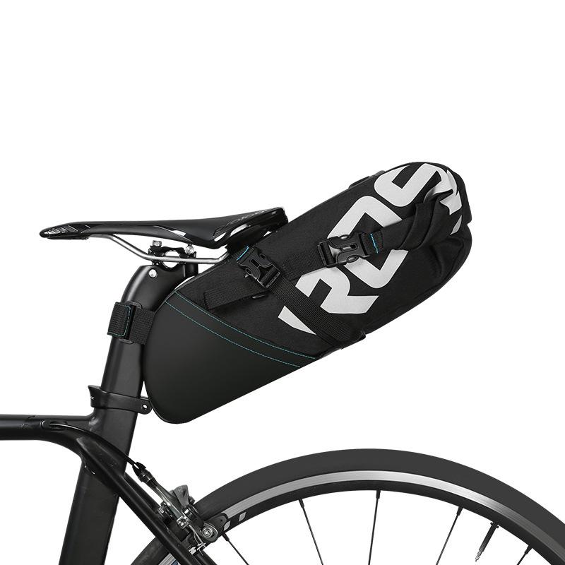 Prix pour Roswheel 2017 nouvelle haute-capacité 8l 10l vtt vélo sac vélo vélo selle queue arrière siège étanche de stockage sacs accessoires