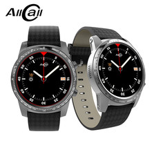 ALLCALL W1 Bluetooth 4.0 Smart Watch Phone Android 5.1 Quad Core 1.3GHz 2GB RAM 16GB ROM GPS Google Play WiFi and 3G MTK6580(China)