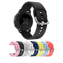 20mm Wristbands Band For Samsung Gear Sport Silicone SmartWatch Belt Smart Watch Pure Color