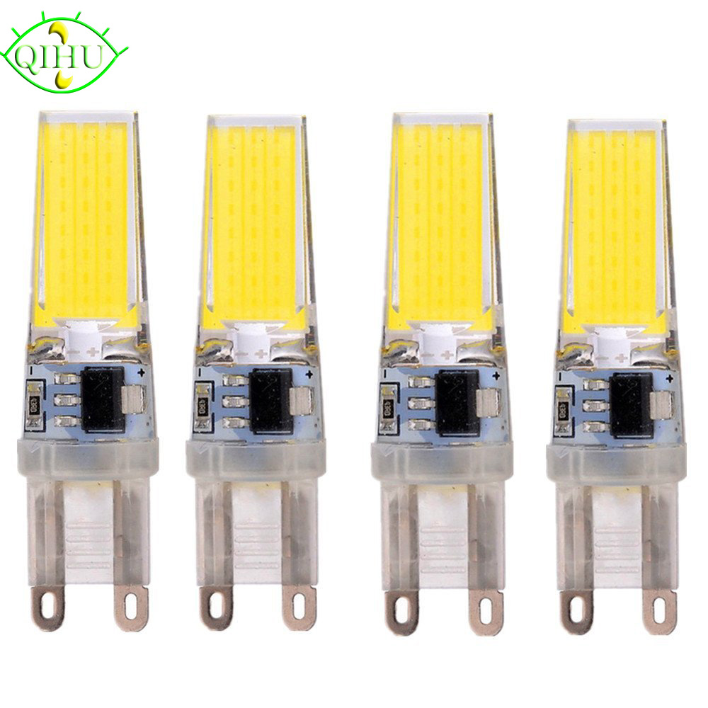 G9 LED Bulb Corn Spotlight AC 220V 230V 240V 3W 360 Beam Angle COB Chip Replace 30/40W Halogen Lamp 5pcs/lot