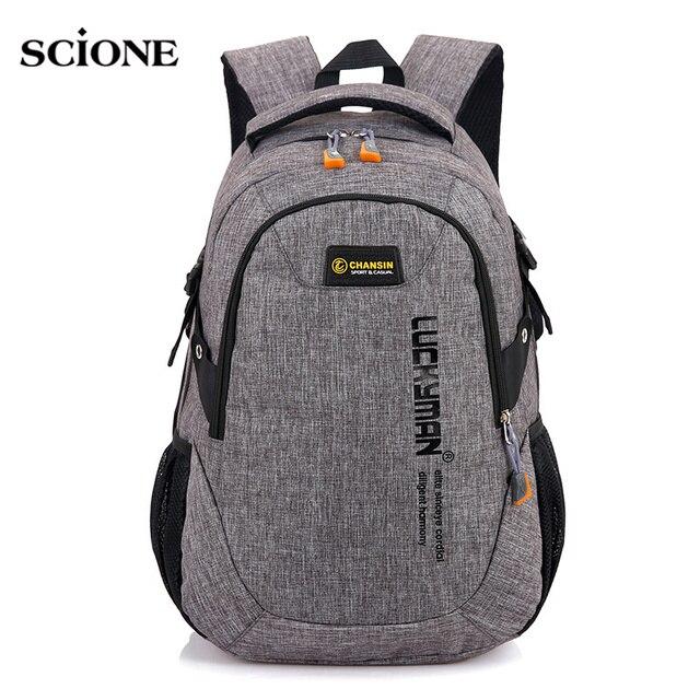 552bd11ab213 30L Backpacks School Daypack Camping Backpack Bag For Teenage Girls Boys  Laptop Outdoor Sports Bags Rucksack Mochila Sac XA1479A