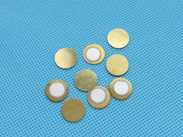 10pcs 12mm Thickness 0.33mm Copper Piezo Disc for Buzzer Pressure Sensor Speaker DIY Ele ...