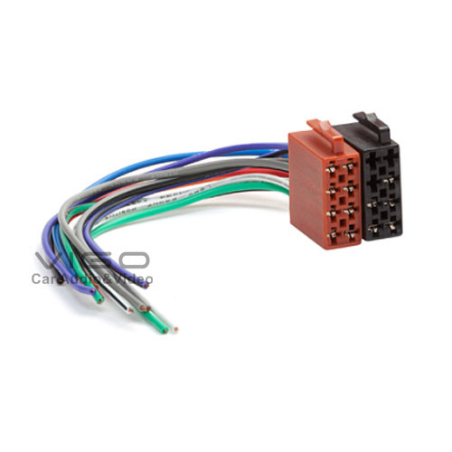 12 001 Universal Female Iso Radio Wire Cable Wiring