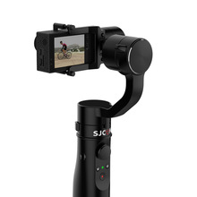 Christmas gift SJCAM 3-Axit Gimbal intelligent Control monopod tripod / suction cup for SJ6 SERIES SJ7 star Sports Action Camera