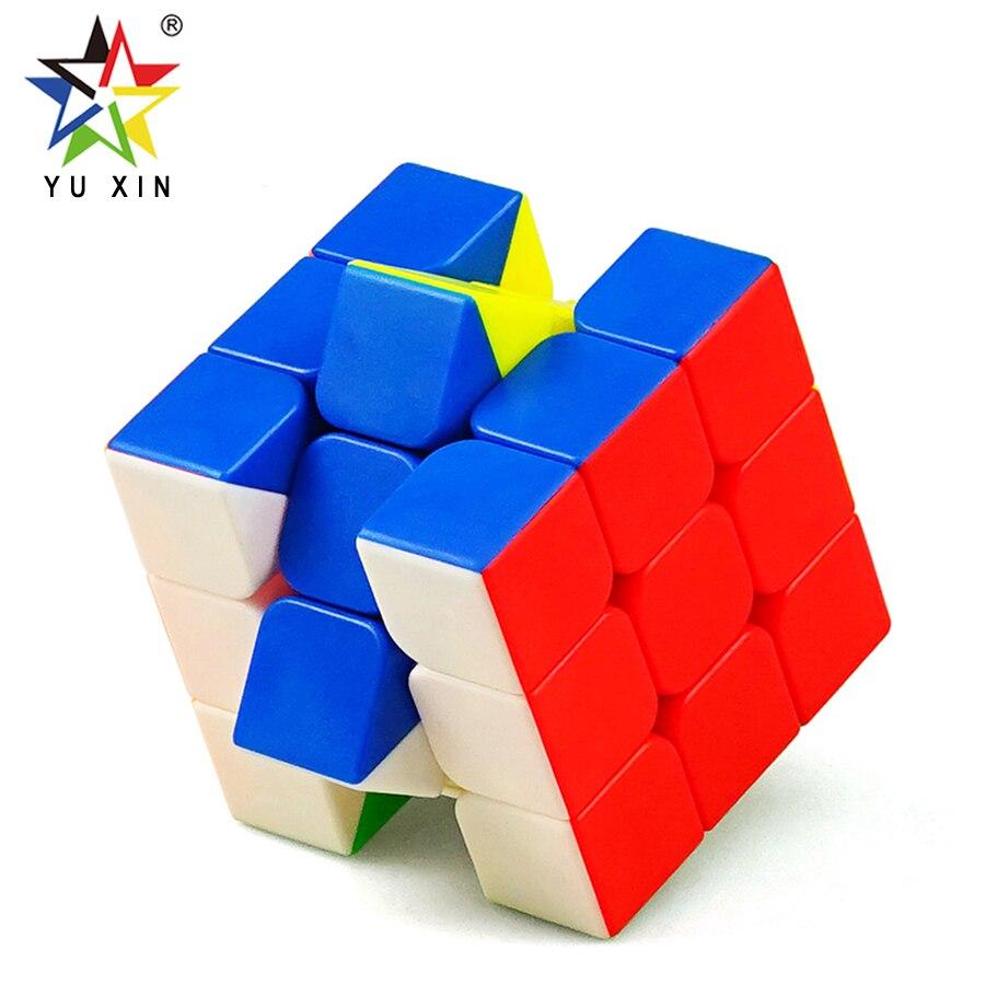 2019 YUXIN Mini Velocidade 3x3x3 Competição Profissional Cubo Cubo Mágico Velocidade Torção Enigma Brinquedos Para Crianças presente do Enigma do Cubo Mágico
