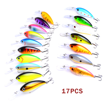 1PC Minnow Fishing Artificial Lure Hard Baits Popper Crankbaits Topwater Wobblers Pesca Isca 14.5g 10cm