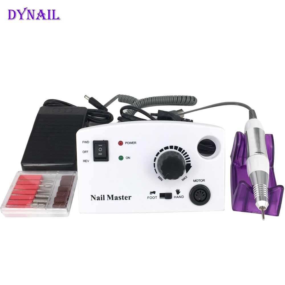 2017 Newest Professional Electric Nail Manicure Machine Electric Nail drill File Manicure Kit with sanding band Nail Art tools red nail tools electric nail drill machine 30000rpm nail art equipment manicure kit nail file drill bit sanding band accessory
