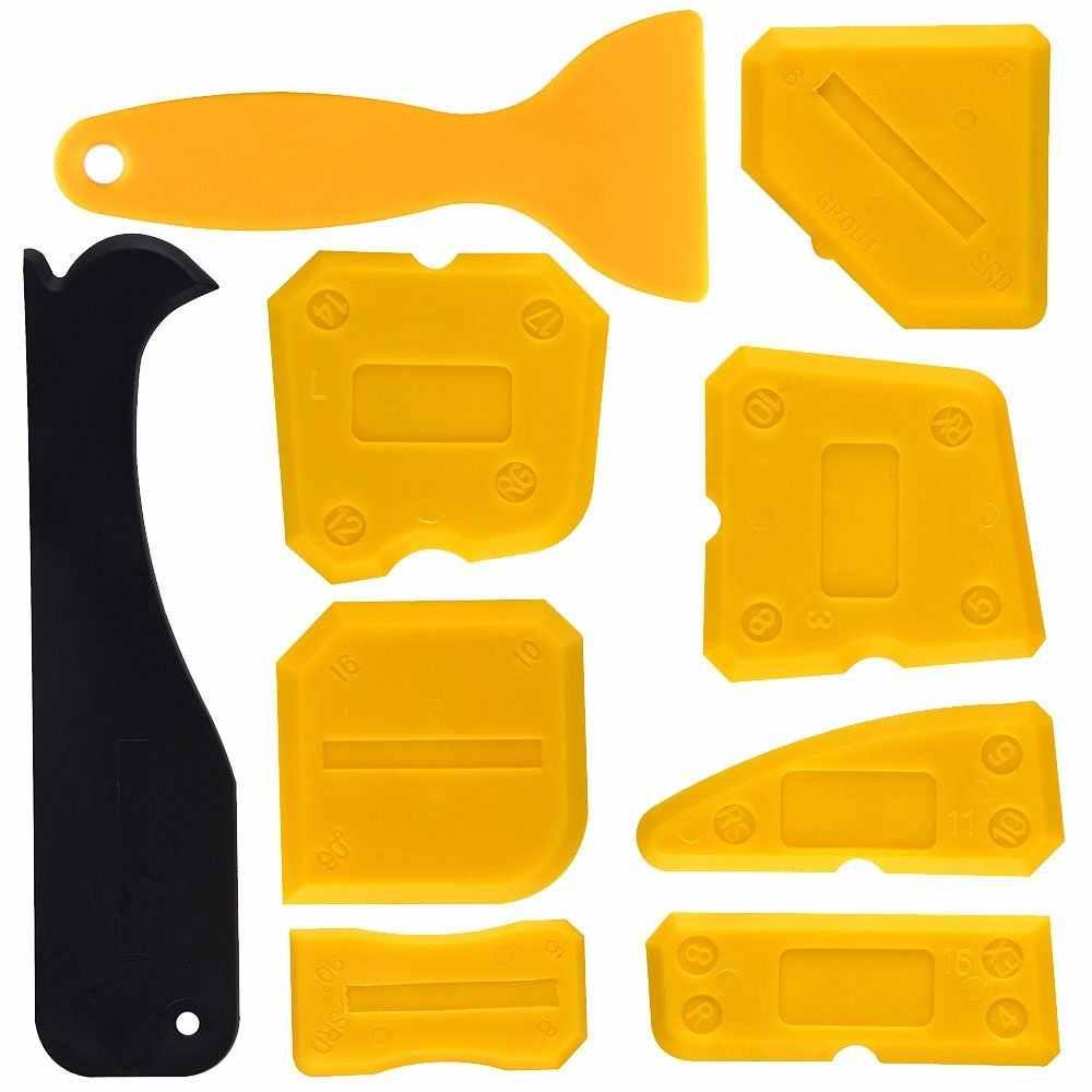 Silicone Acrylique Pour Salle De Bain mastic silicone grattoir outil de lissage kit d'outils de