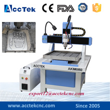Cheap cnc moulding machine 6060 for copper brass aluminum metal engraving/cnc milling machine