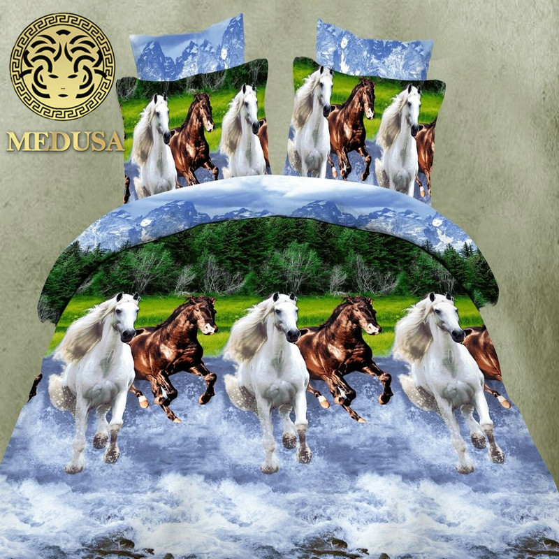 hot 3d animal bedding set king queen twin size 34pcs