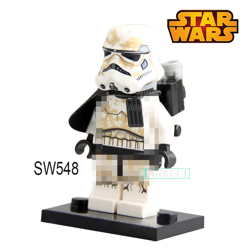 Building Blocks Desert Storm Soldiers Troopers Star Wars Superhero Deadpool Models Bricks Kids DIY Toys Hobbies building blocks agent uma thurman peeta dc marvel super hero star wars action bricks dolls kids diy toys hobbies kl069 figures
