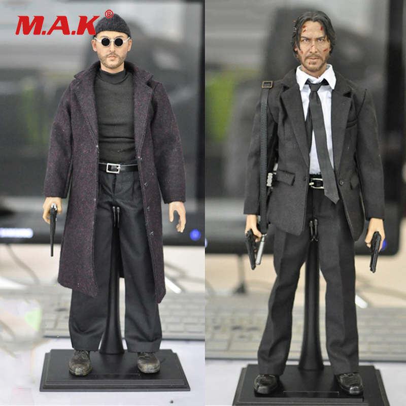 1/6 scale Jean Reno Leon male man movie cold killer actor star full set action figures for collections